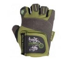Power System Перчатки женские 2560 серо-зеленые