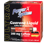 Power System Guarana Liquid Ampules 1шт*25 ml (срок 06.2018)