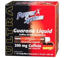 Power System Guarana Liquid Ampules 1шт*25 ml (срок 06.2018)