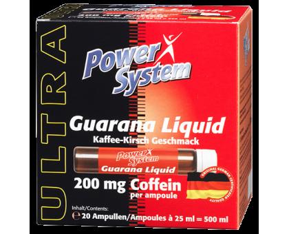 Power System Guarana Liquid Ampules 1шт*25 ml