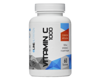 RLine Vitamin C 60 таб (Апельсин)