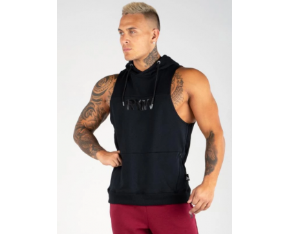 Ryderwear безрукавка Flex Sleeveless Hoodie черная