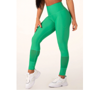 Ryderwear леггинсы Mesh High Waisted Leggings зеленые
