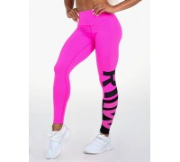 Ryderwear леггинсы Neonude Scrunch Bum Leggings розовые