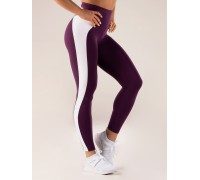 Ryderwear леггинсы Queen High Waisted Leggings фиолетовые