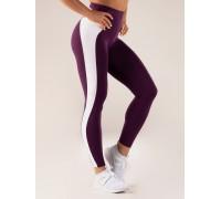 Ryderwear леггинсы Queen High Waisted Leggings фиолетовые