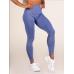 Ryderwear бесшовные леггинсы Seamless Tights голубые