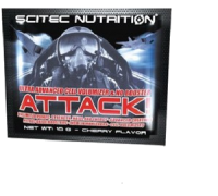 Scitec Nutrition Attack 10 гр