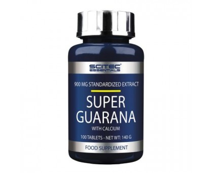Scitec Nutrition Super Guarana 100 таб