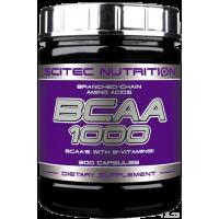 Scitec Nutrition BCAA 1000 300 caps (срок 04.2018)