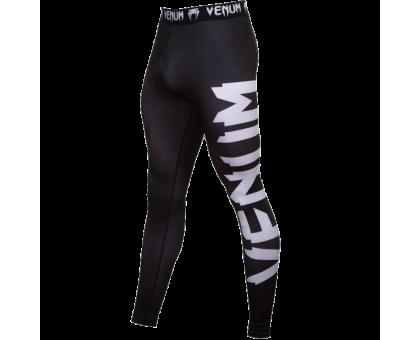 Штаны компрессионные Venum Giant - Black