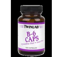 Twinlab B-6 100 Mg 100 caps (срок до 09.2017)