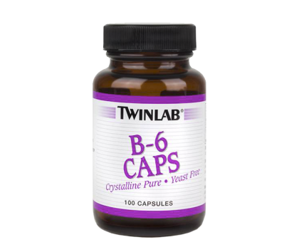 Twinlab B-6 100 Mg 100 caps (срок до 09.2017)