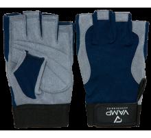 VAMP перчатки серо-синие